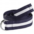 OCEAN ONE Damesriem D-Ring/ navy gestreept (kopie)