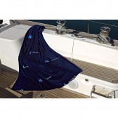 Fleece deken SAILING/koningsrood