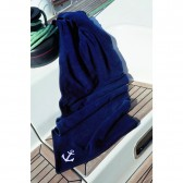 OCEAN ONE Fleece deken ″Solid″navy